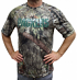 """Green Bay Packers Majestic NFL """"In The Woods"""" Men's Camo Short Sleeve T-Shirt"""