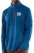 """New York Giants Majestic NFL """"Play to Win"""" 1/2 Zip Mock Neck Pullover Shirt"""