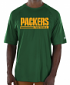 """Green Bay Packers Majestic NFL """"Total Fanfare"""" Men's S/S Performance Shirt"""
