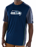 """Seattle Seahawks Majestic NFL """"Unmatched"""" Men's S/S Performance Shirt"""
