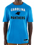"Carolina Panthers Majestic NFL ""Line of Scrimmage 3"" Men's T-Shirt"