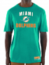 """Miami Dolphins Majestic NFL """"Line of Scrimmage 3"""" Men's T-Shirt"""
