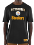 "Pittsburgh Steelers Majestic NFL ""Line of Scrimmage 3"" Men's T-Shirt"