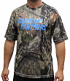 """Carolina Panthers Majestic NFL """"In The Woods"""" Men's Camo Short Sleeve T-Shirt"""