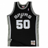 David Robinson San Antonio Spurs Mitchell & Ness NBA Throwback Jersey - Black