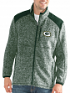 """Green Bay Packers NFL G-III """"Back Country"""" Full Zip Men's Sweater Jacket"""