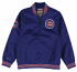 "Chicago Cubs Mitchell & Ness MLB Men's ""Slider"" 1/4 Zip Pullover Jacket"