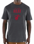 "Miami Heat Majestic NBA ""Hot Picks"" Men's Tri-Blend Short Sleeve T-Shirt"