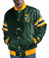 "Green Bay Packers NFL Starter ""The Captain"" Premium Button-Up Polyfill Jacket"