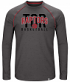 "Toronto Raptors Majestic NBA ""Hit the Mark"" Men's Tri-Blend Long Sleeve T-Shirt"