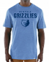 "Memphis Grizzlies Majestic NBA ""Hot Picks"" Men's Tri-Blend Short Sleeve T-Shirt"