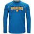"Golden State Warriors Majestic NBA ""Hit the Mark"" Men's Tri-Blend S/S T-Shirt"