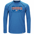 "Oklahoma City Thunder Majestic NBA ""Hit the Mark"" Men's Tri-Blend L/S T-Shirt"
