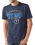 """Tennessee Titans NFL G-III """"Playoff"""" Men's Dual Blend S/S T-shirt - Navy"""