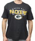"Green Bay Packers NFL G-III ""Playoff"" Men's Dual Blend S/S T-shirt - Charcoal"