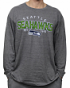 "Seattle Seahawks NFL G-III ""Playoff"" Men's Dual Blend L/S T-shirt - Graphite"