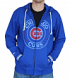 "Chicago Cubs Mitchell & Ness MLB ""Sweep"" Full Zip Hooded Sweatshirt"