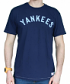 New York Yankees MLB Mitchell & Ness Bases Loaded Vintage Premium Men's T-Shirt