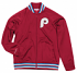 "Philadelphia Phillies Mitchell & Ness Men's ""Top Prospect"" Full Zip Track Jacket"