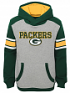 "Green Bay Packers Youth NFL ""Allegiance"" Pullover Hooded Sweatshirt"