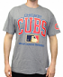 """Chicago Cubs Mitchell & Ness MLB Men's """"Game Day"""" Short Sleeve T-Shirt"""