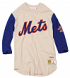 "New York Mets Mitchell & Ness MLB Men's ""Wild Pitch"" 3/4 Sleeve Premium Shirt"
