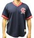 "California Angels Mitchell & Ness MLB Men's ""Game Winner"" Mesh Jersey Shirt"