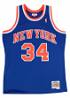 Charles Oakley New York Knicks Mitchell & Ness NBA Swingman 91-92 Jersey - Blue