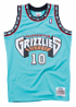 Mike Bibby Vancouver Grizzlies Mitchell & Ness NBA Swingman 98-99 Jersey - Teal