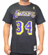 "Shaquille O'Neal Los Angeles Lakers Mitchell & Ness NBA Men's ""Player"" T-Shirt"
