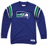 "Seattle Seahawks Mitchell & Ness NFL Men's ""Team Captain"" Long Sleeve Shirt"