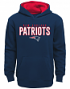 "New England Patriots Youth NFL ""Extra Point"" Pullover Hooded Sweatshirt"