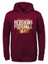 "Washington Redskins Youth NFL ""Attitude"" Pullover Hooded Performance Sweatshirt"