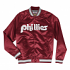 "Philadelphia Phillies Mitchell & Ness Men's ""Big Time"" Lightweight Satin Jacket"
