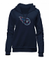 "Tennessee Titans Women's New Era NFL ""Post Route"" Pullover Hooded Sweatshirt"