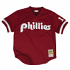 Darren Daulton Philadelphia Phillies Mitchell & Ness Authentic 1991 BP Jersey