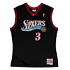 Allen Iverson Philadelphia 76ers Mitchell & Ness Youth Throwback Jersey - Black