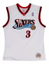 Allen Iverson Philadelphia 76ers Mitchell & Ness Youth Throwback Jersey - White