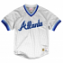 "Atlanta Braves Mitchell & Ness MLB Men's ""Dinger"" Mesh Jersey Shirt - White"