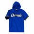"Orlando Magic Mitchell & Ness NBA ""Drills"" Short Sleeve Hooded Blue Sweatshirt"