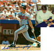Dale Murphy Signed Braves 8x10 Batting