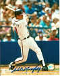 Dale Murphy Signed Braves 8x10 Hitting