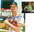 Dale Murphy Signed Braves 8x10 Portrait