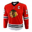 Jonathan Toews Youth Chicago Blackhawks NHL Reebok Red Replica Jersey