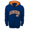 Auburn Tigers Team Color NCAA Full Zip Hooded Sweatshirt
