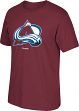 Colorado Avalanche Reebok NHL Burgundy Primary Logo T-Shirt