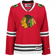 Chicago Blackhawks Women's NHL Reebok Red Premier Jersey