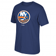 New York Islanders Reebok NHL Blue Primary Logo T-Shirt