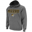 Missouri Tigers Charcoal Automatic Pullover Hooded Sweatshirt