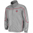 Wisconsin Badgers Gunner Charcoal Full Zip Training Jacket